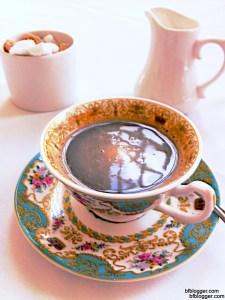 Coffee at the Orangery, Kensington Palace, London, UK