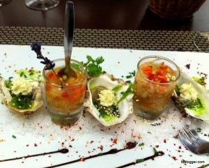 Seafood Starter in Lacoste, France