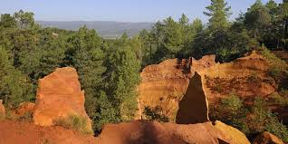 Red hills of Roussillon