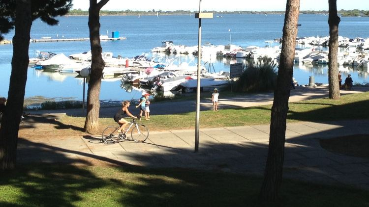 Biking at La Grande-Motte