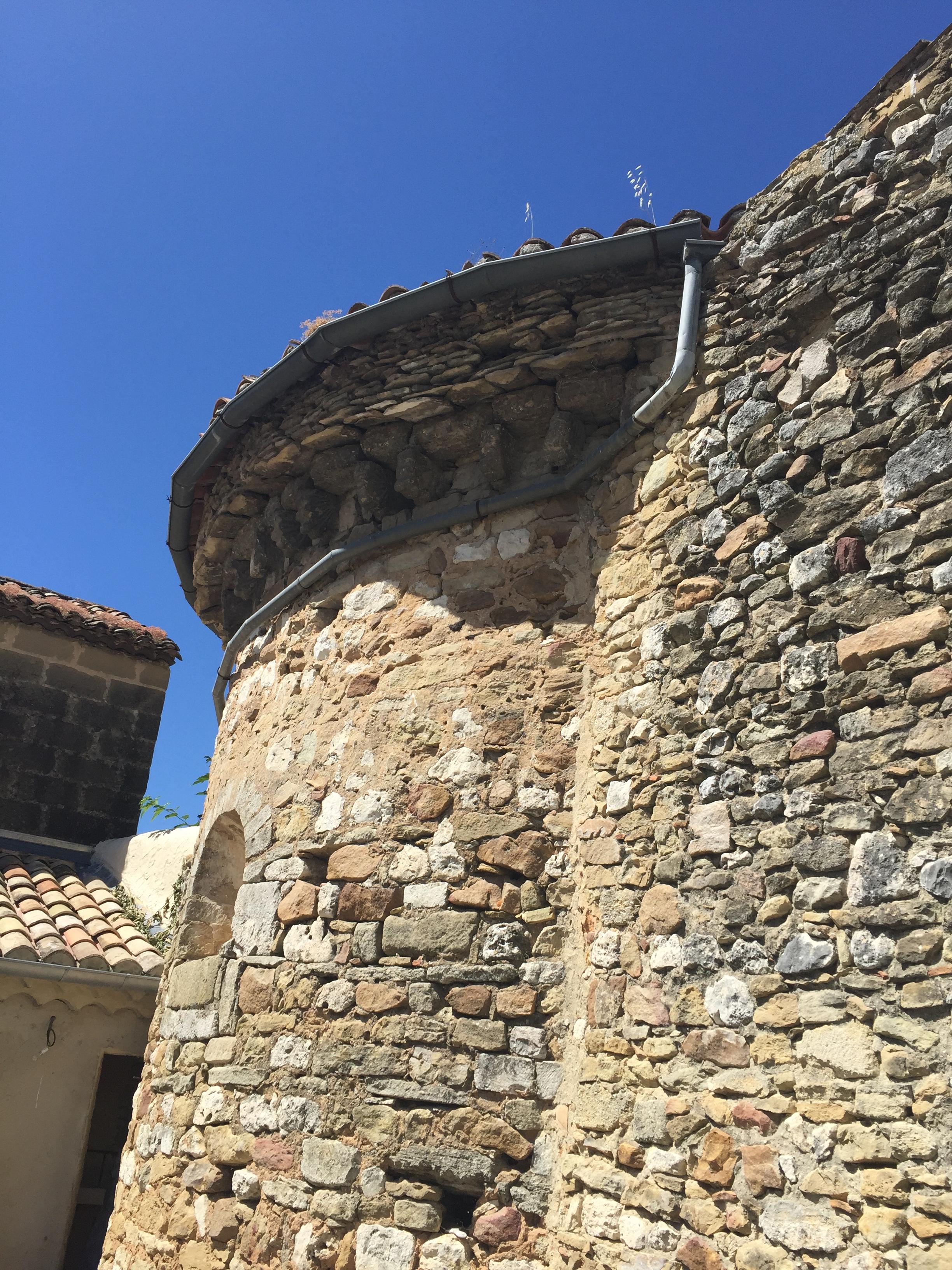 Eleventh century church outside Uzes