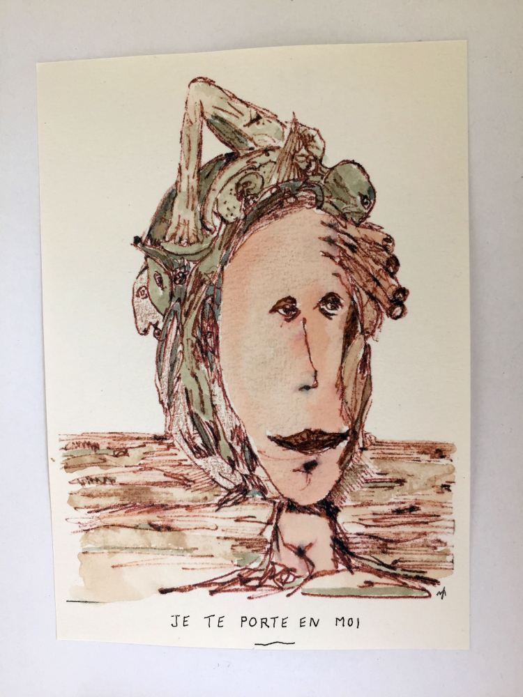 """Deviation"" exhibit piece by Memin"
