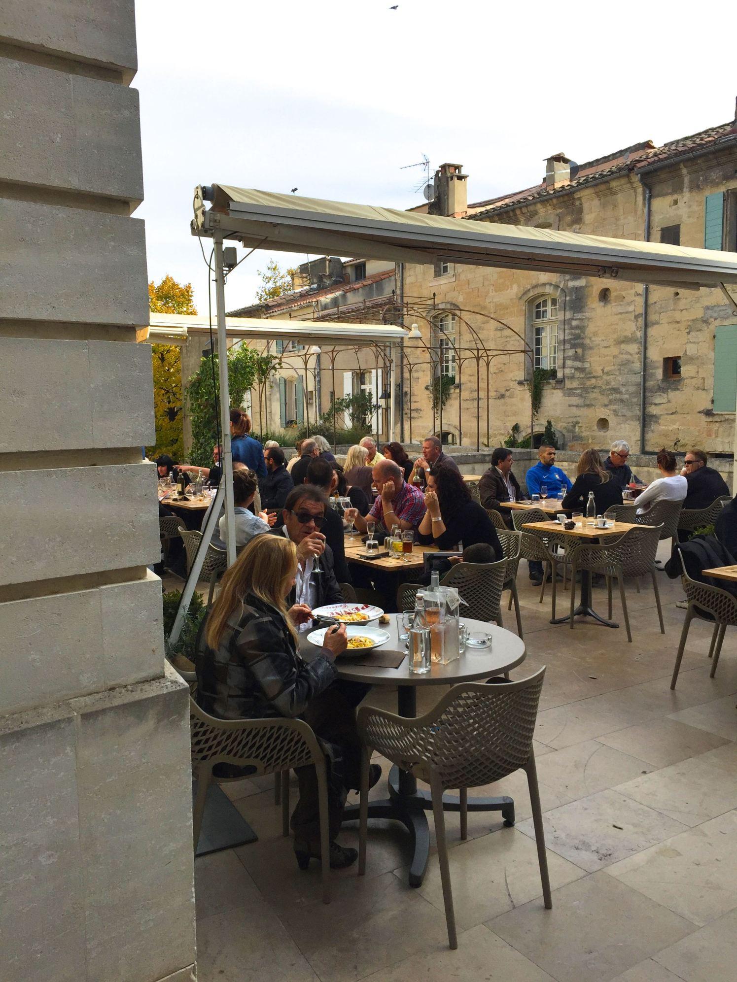 Italian restaurant in Uzes France