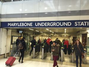 Marleybone Station, London