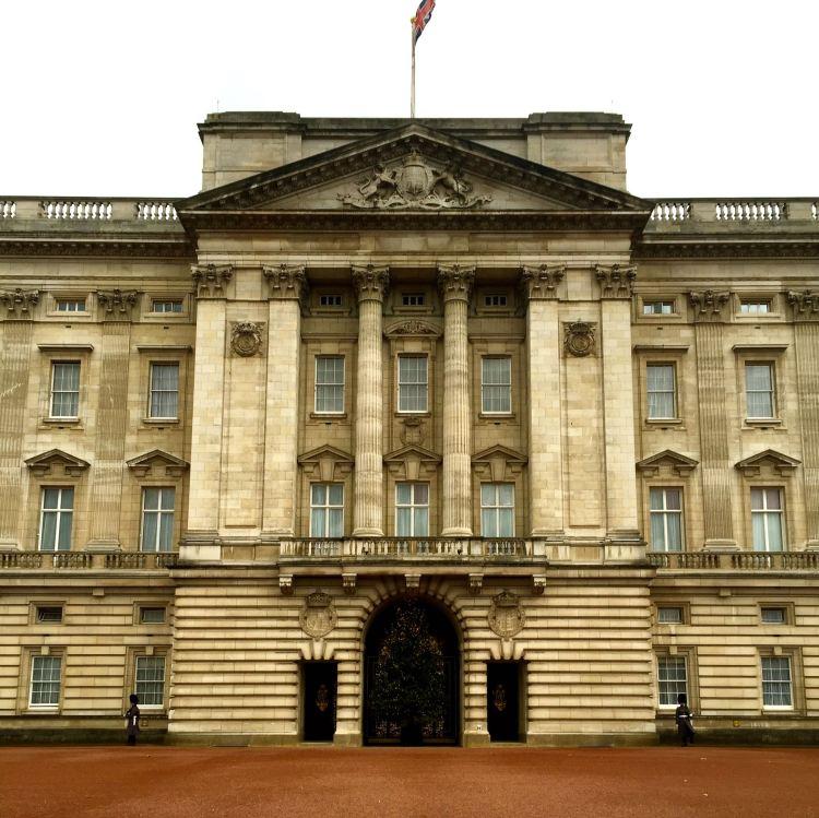 Buckingham Palace Christmas 2015