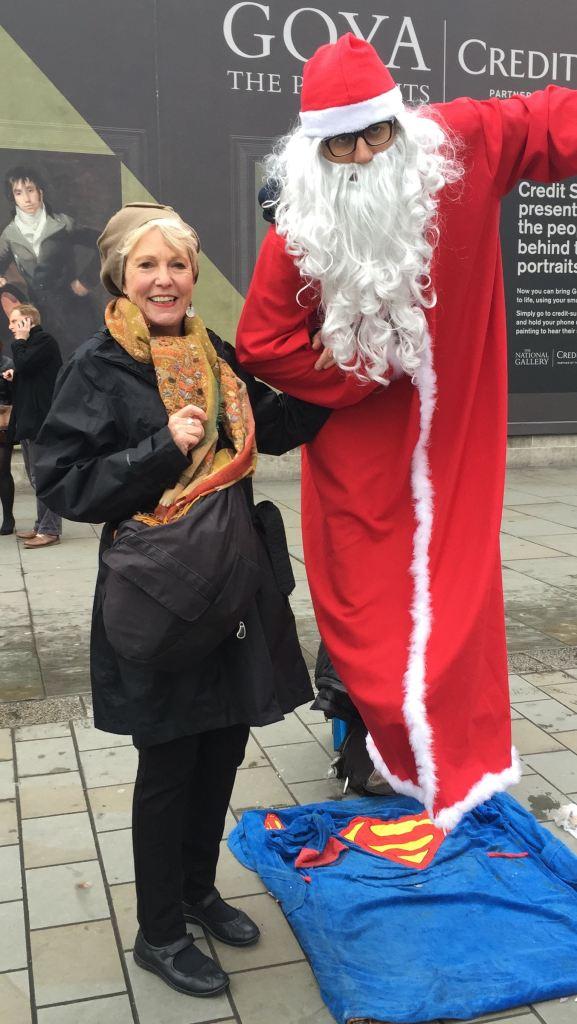 Trafalgar Square Santa