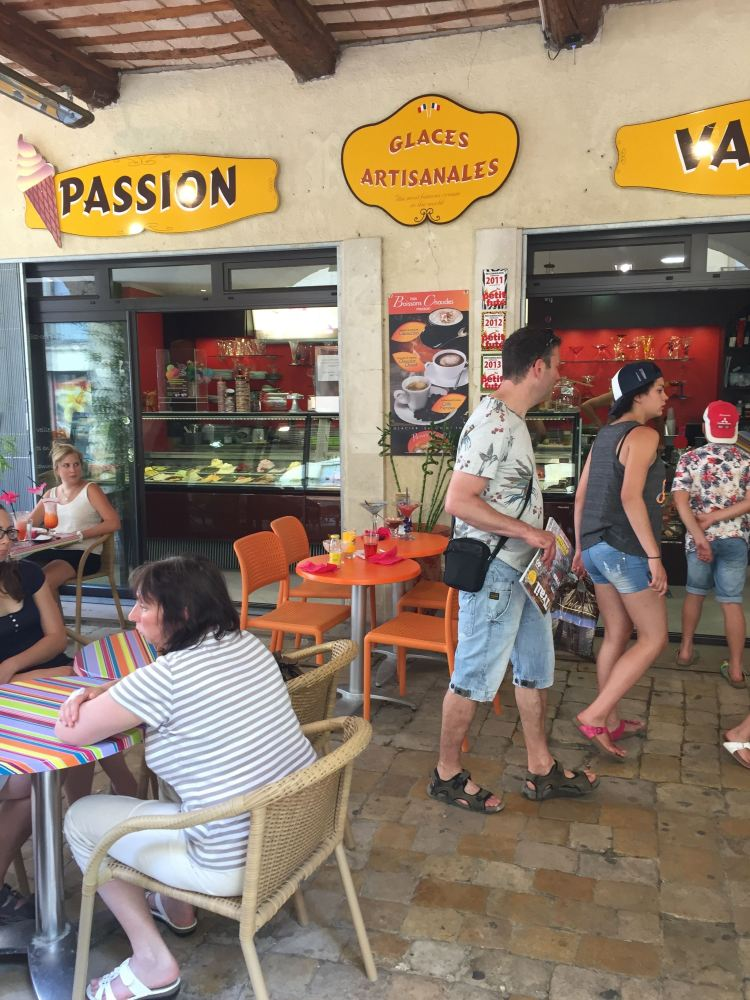 Passion Ice Cream on Place aux Herbes