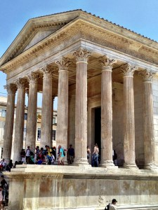Maison Carrée in Nimes