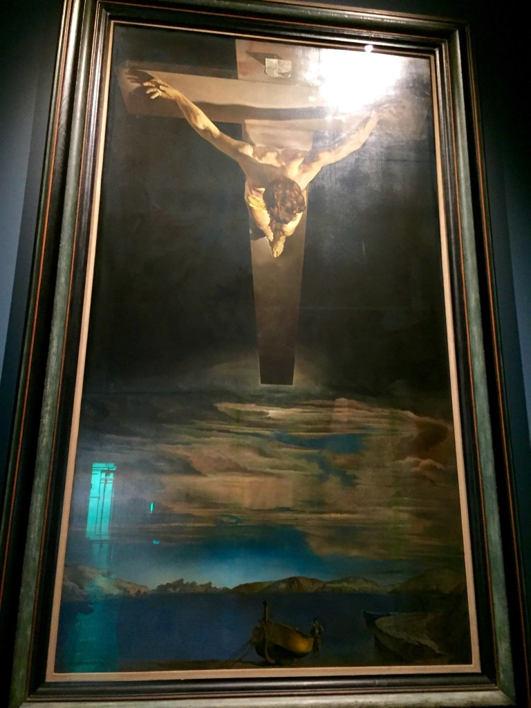 Dali's masterpiece in Glasgow - Christ of St. John of the Cross