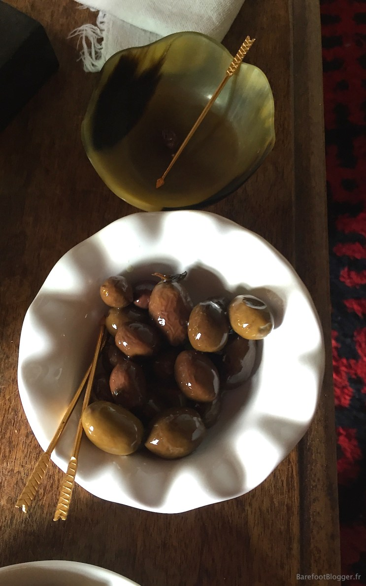 Olives at French artist's home