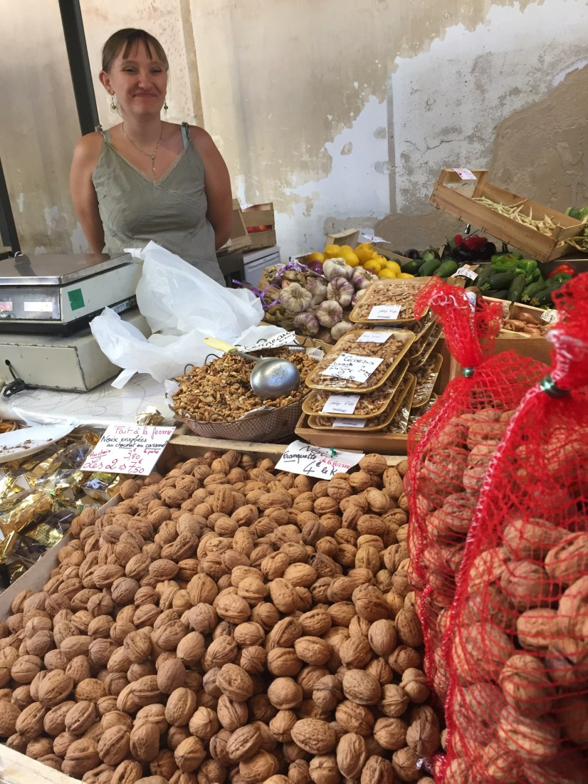 Market day in Sarlat