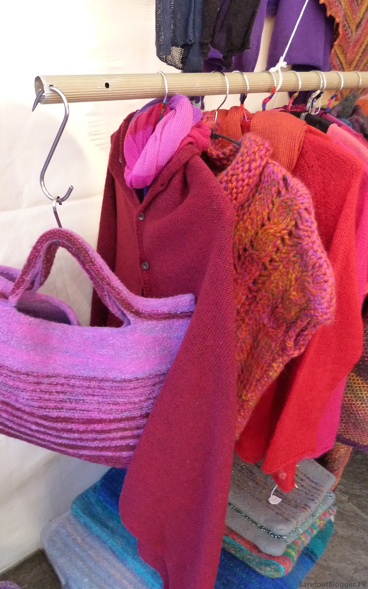 Handmade woolens in Uzes France