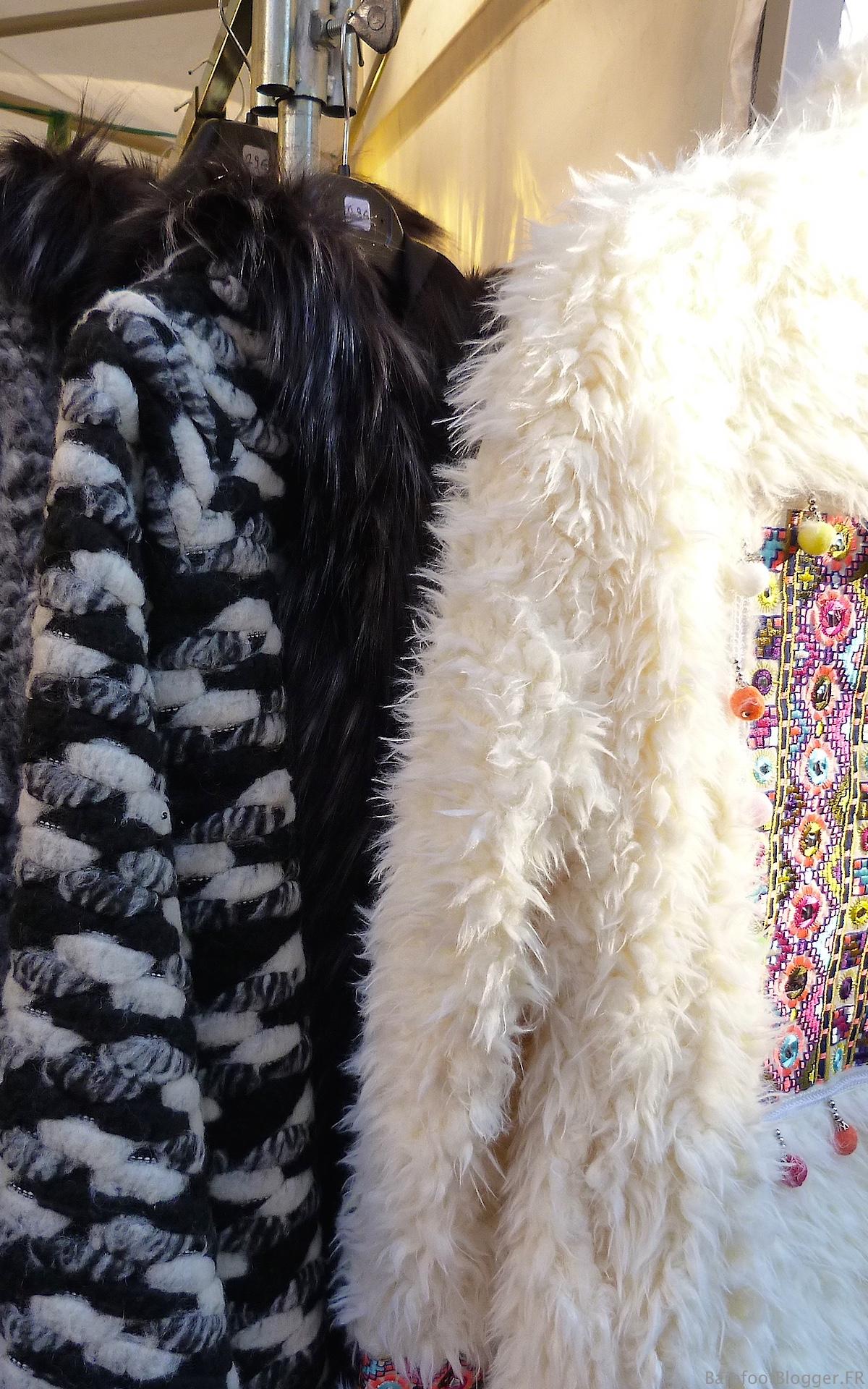 Furs at Uzes Christmas Market