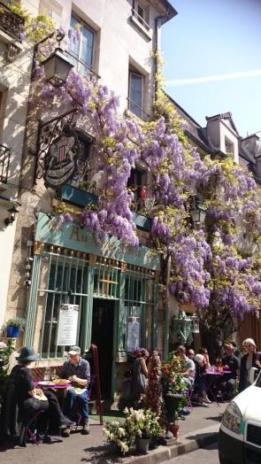 Cafe near Notre Dame - Kathleen H.