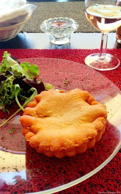 Sete's famous tielle (oyster pie)