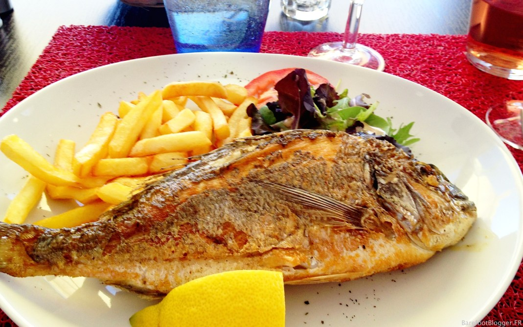 Fresh catch from Sete