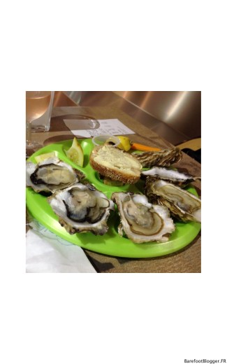 Oysters from Sete and Bouziques
