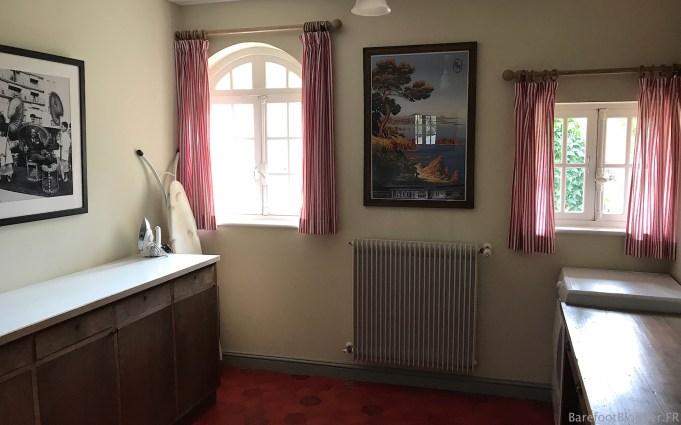 Servants' utility room