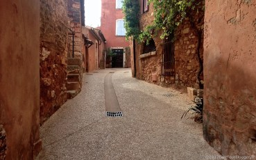 Street in the Luberon France