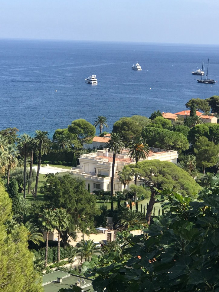 Hot spots on the Côte d'Azur
