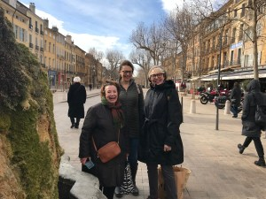 Learning French in Aix