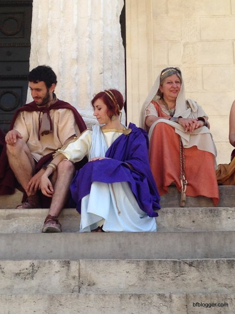 Roman reenactment Nimes