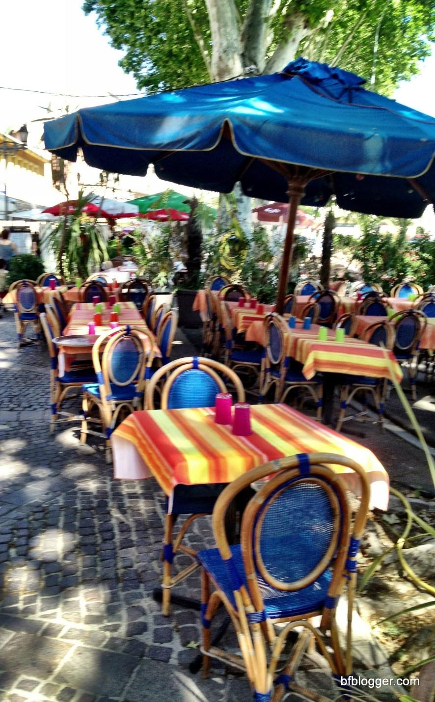 Cafe in Pezenas