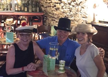 Rich and Paula, friends and Uzes neighbours