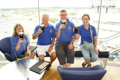 Quaffing Quartet, Guinness Storehouse.