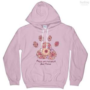 Dogs Are A Girls Best Friend T-Shirt Hoodie