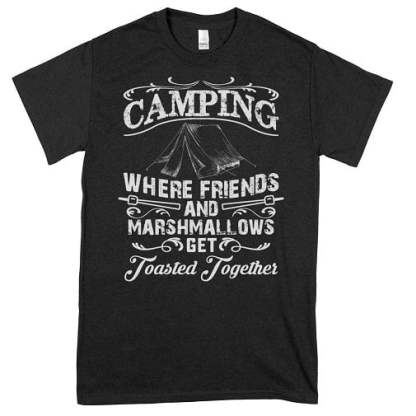 Camping With Friends Shirts