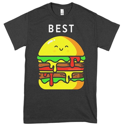 Burger and Fries Best Friend Hoodies For 2 - best friend t shirts for 2
