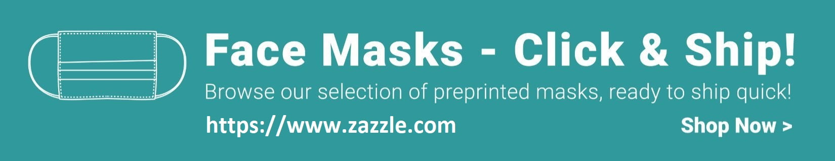 Quick Ship Face Mask Designs - Mask banner