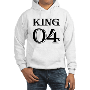 King Best Friend Hoodie For 4