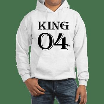 King Best Friend Hoodie For 4