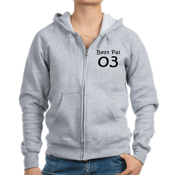Bff Shirts For 3 - Best pal 03 Hoodie