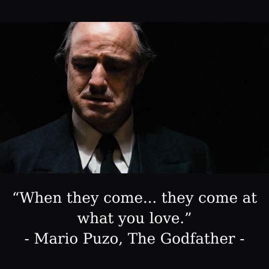 Godfather Captions For Instagram Pictures