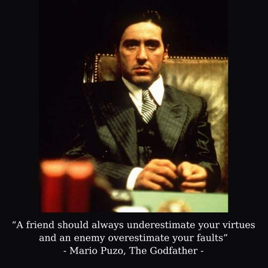 The Godfather Quotes For Instagram Facebook Captions Pictures