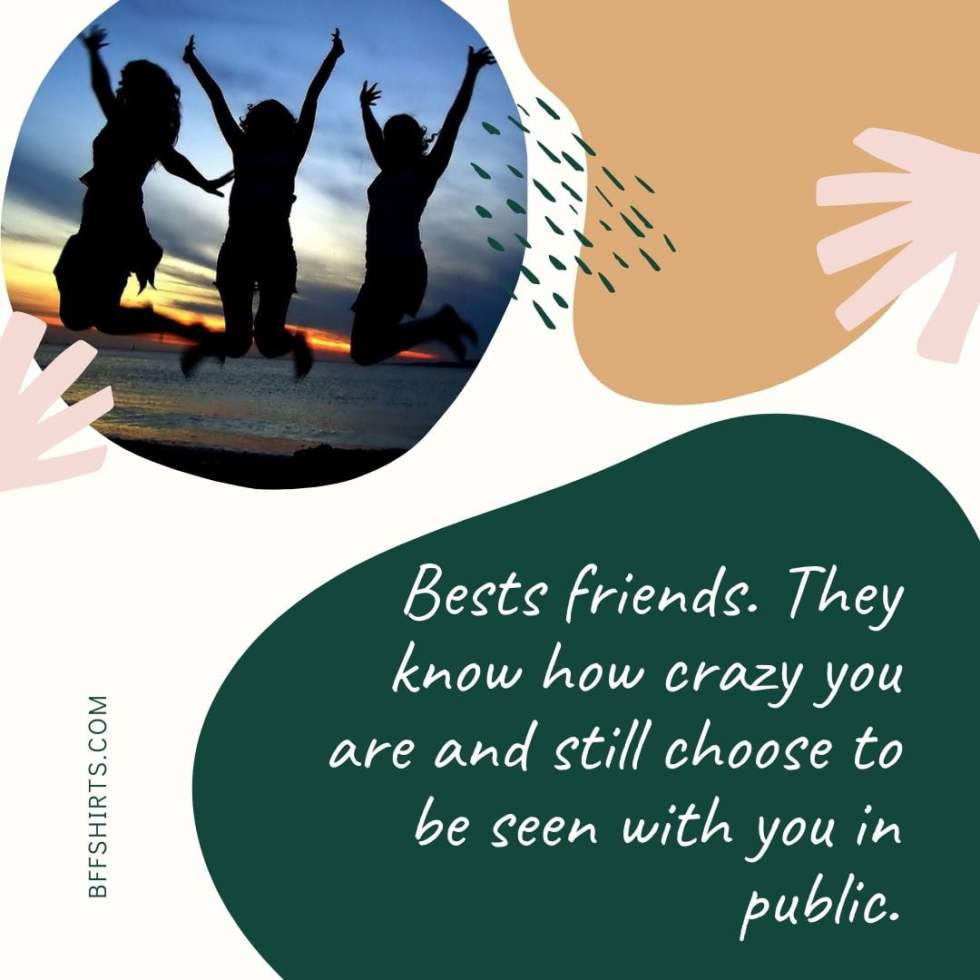 Hilarious BFF Quotes For Instagram Caption Pictures