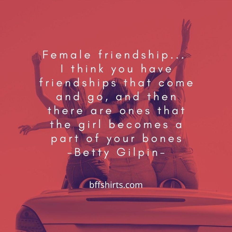 Female Best Friend Quotes