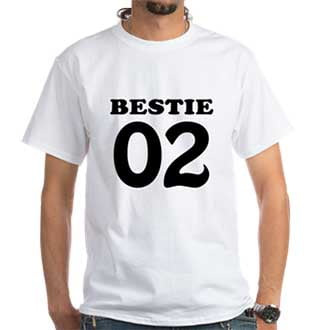 Besties BFF Shirts for 2 3 4 Friends
