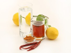 LOS ANGELES, CA., 6 JUNE, 2012--Cleanses are all the rage right now, but do they work? We would like a still life of the Master cleanse in in the studio. Ingredients are lemon juice, tabasco, water and a drop of maple syrup. (KIRK MCKOY / LOS ANGELES TIMES)