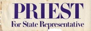 Priest for State Representative
