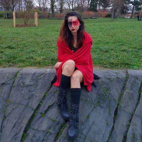 Aissia Abdelmoumen dans son element naturel