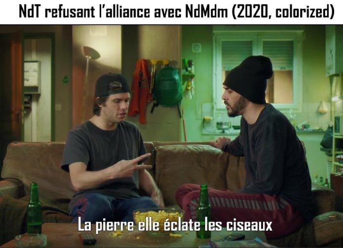 Jérémy Vk - NdMdM est recalée par NdT
