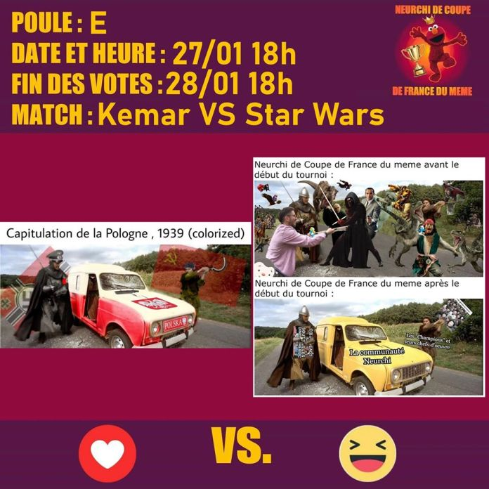 Match 1 Kemar vs Star Wars