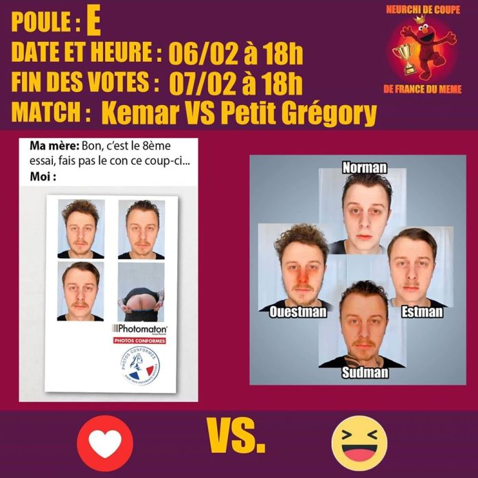Match 2 Kemar vs Petit Gregory