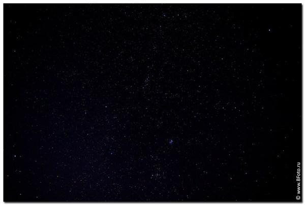 Фото высокого разрешения звездное небо созвездия
