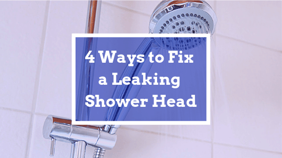 4 ways to fix a leaking shower head