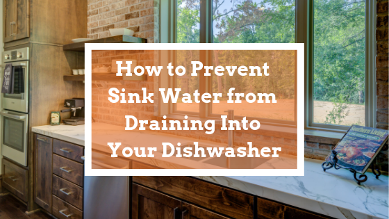 prevent sink water from draining into